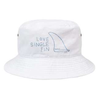 Love Single Fin Bucket Hat