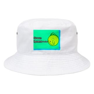 イグアナデザイン Bucket Hat