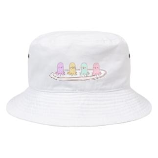 ピヨさんウインナー Bucket Hat