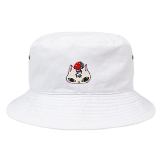 猫いちご Bucket Hat