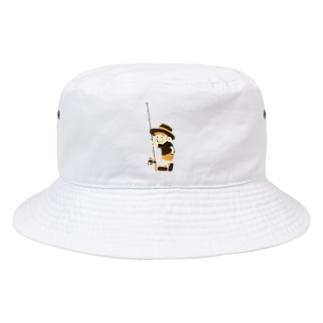 釣りに行きたい少年 Bucket Hat