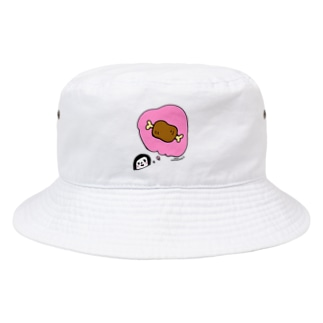 万枚ちゃんのあのおにく Bucket Hat