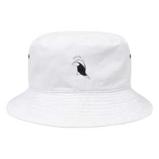 威嚇するミナミコアリクイ Bucket Hat