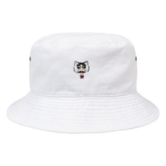 鼻メガネ Bucket Hat