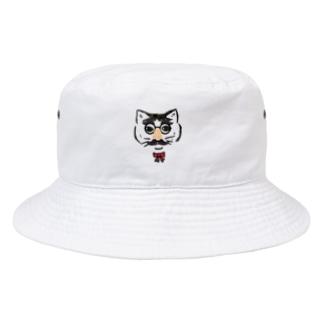 KOMAKOの鼻メガネ Bucket Hat
