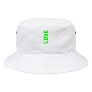 ばあばが残した大量のLOVE Bucket Hat