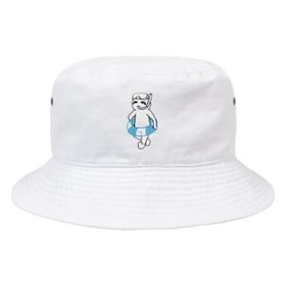 夏は嫌いだ(文字無し) Bucket Hat
