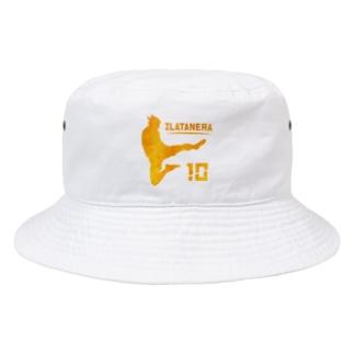 ZURATANERA スウェーデンのサッカーの神様偶像  Bucket Hat