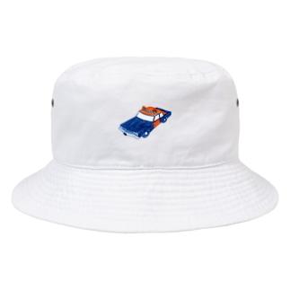 パトカー Bucket Hat