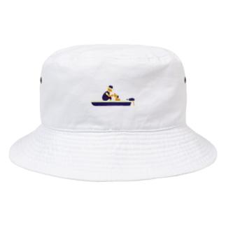 モーニングフィッシング(両面) Bucket Hat