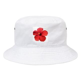 cheap sheep.のハイビスカス(ひとつ) Bucket Hat