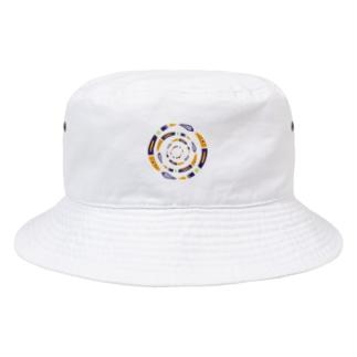 フィッシュサークル Bucket Hat