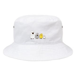 ねこぜや のトトリ Bucket Hat