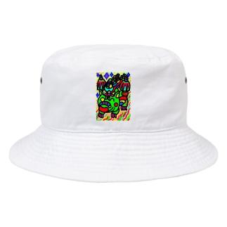 dorihopuの竜のウォッチ Bucket Hat