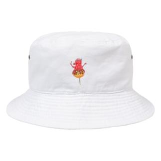 ひよこ工房のたこ焼きいかが? Bucket Hat