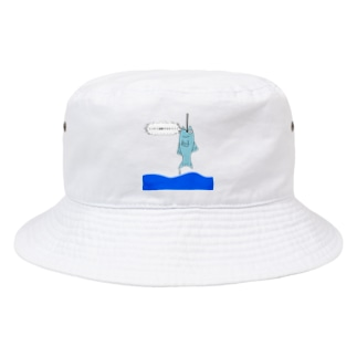 アトリエヱキパの逆転を目指す魚 Bucket Hat