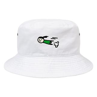 gricoRodriguezのはしるまゆむし Bucket Hat
