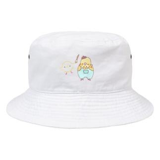 お絵描きインコ Bucket Hat