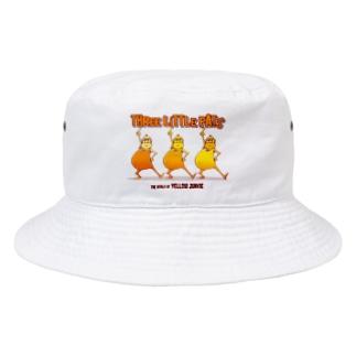 The World of YELLOW JUNKIEのYELLOW JUNKIE 「3匹のデブ」 Bucket Hat