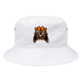 YELLOW JUNKIE 「怒ったご尊顔」 Bucket Hat
