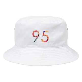 花柄95 Bucket Hat