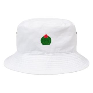 丸サボテン Bucket Hat