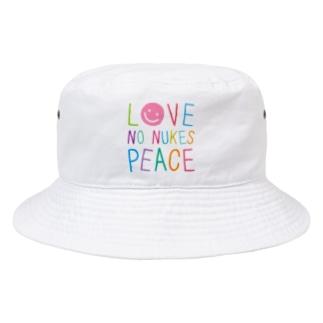 """Colours"" ホワイトハット Bucket Hat"