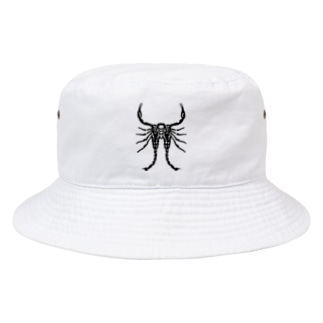 MALFORMATION 黒/DB_24 Bucket Hat