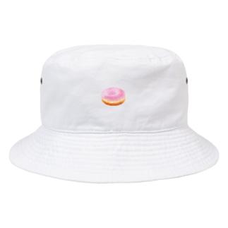 いちごドーナツくん Bucket Hat
