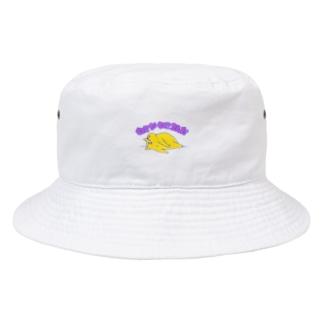 ねこがねころんだ Bucket Hat