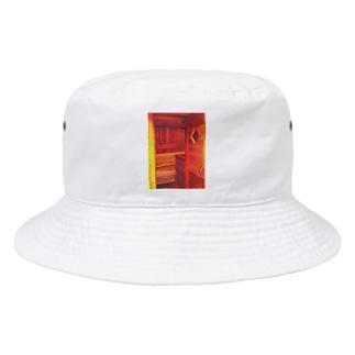 KAERUCAFE SHOPのサウナ Bucket Hat
