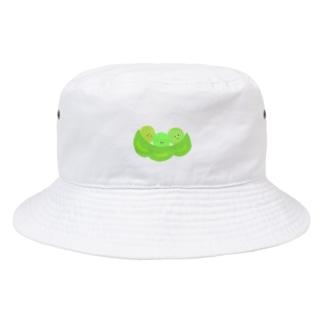 お豆さん兄弟 Bucket Hat