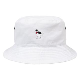 文鳥の文太くん Bucket Hat