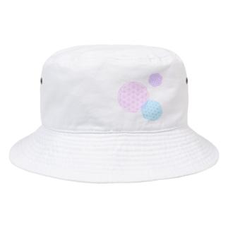 フラワーオブライフ Bucket Hat