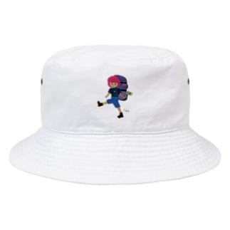 旅に出たよ Bucket Hat