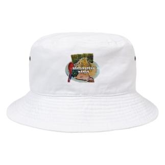 ネギラーメンコテコテ(背脂増し) Bucket Hat