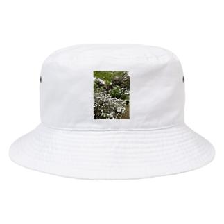 Okaza-kiokaのはな Bucket Hat