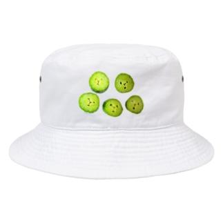 心配してる Bucket Hat