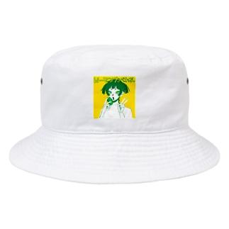 ピーマン食べれる Bucket Hat