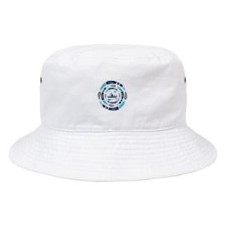 サークルフィッシング_ナイト Bucket Hat