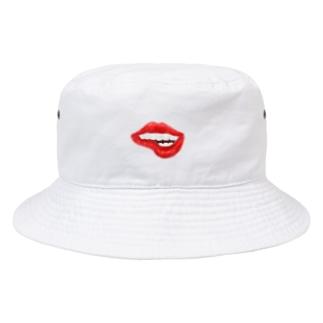 ○の色気ある唇 Bucket Hat