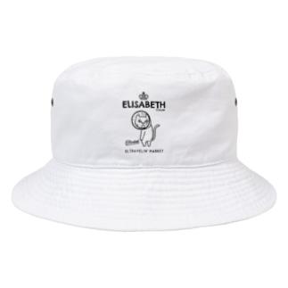 ULTRAVELIN' MARKETのエリザベス Bucket Hat