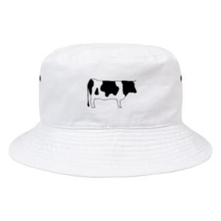 SIMPLEシリーズ ウシ  Bucket Hat