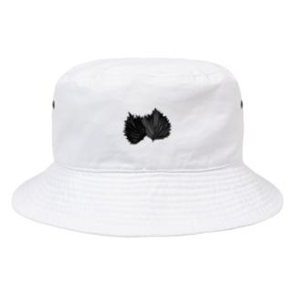 脱法大葉 Bucket Hat