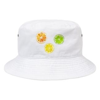 シトラスフルーツ! Bucket Hat