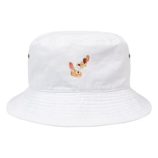 miruANの二兎を追う者は一兎をも得ず Bucket Hat