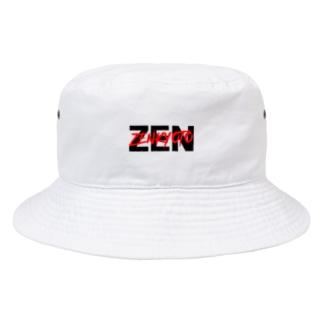 ZENダブルロゴ Bucket Hat