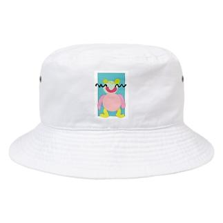 イラレ赤ちゃん Bucket Hat