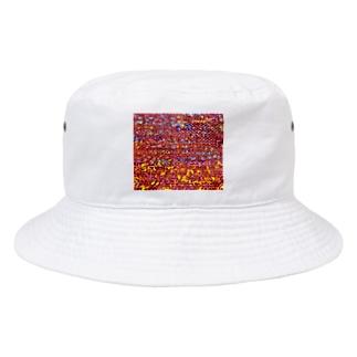 カヨラボ スズリショップの夕焼け/カヨサトーTX Bucket Hat