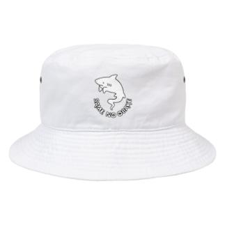 屋台 urukaのSAME NO OBAKE Bucket Hat